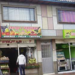 Frutas y Verduras De la 7Ma Chía  en Bogotá