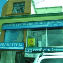 Ferretería de Hipermeabilizantes en Bogotá