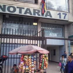 Notaría 17 Carrera 10 en Bogotá