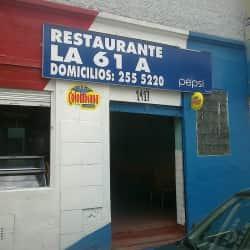 Restaurante La 61 A en Bogotá