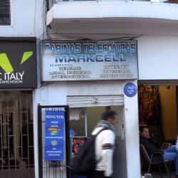 Cabinas Telefónicas Markcell en Bogotá
