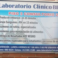 Laboratorio Clínico Bioandes en Bogotá