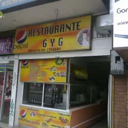 Restaurante G y G  en Bogotá