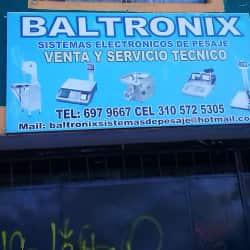 Sistemas Electrónicos de Pesaje Baltronix en Bogotá