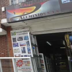 Molduvidrios Aluminios S.A.S en Bogotá