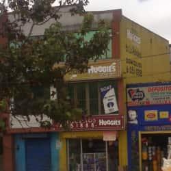 Pañalera Huggies en Bogotá