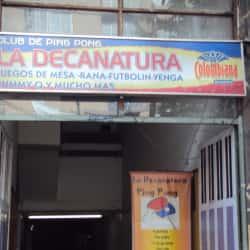 Club de Ping Pong La Decanatura en Bogotá