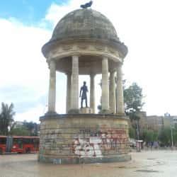 Estatua Simón Bolivar en Bogotá