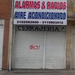 Alarmas y Radios Aire Acondicionado en Bogotá