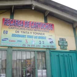 Recarga de Cartuchos Calle 130B  en Bogotá