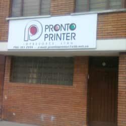 Pronto Printer en Bogotá