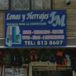 Lonas y Herrajes JM en Bogotá