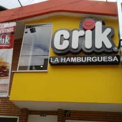 Crik La Hamburguesa Calle 142 en Bogotá