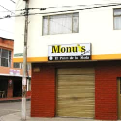 Monu's Sport en Bogotá