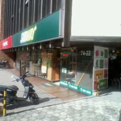 Subway Calle 74 en Bogotá