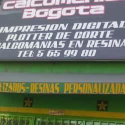 Calcomanías Bogotá en Bogotá