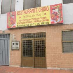Restaurante Chino Wing Shing en Bogotá