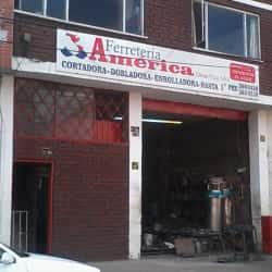 Ferreteria América Gómez y Cía en Bogotá
