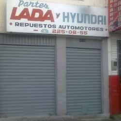 Partes Lada y Hyundai en Bogotá