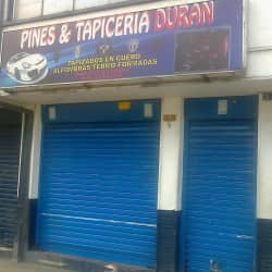 Pines y Tapiceria Duran en Bogotá
