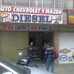 Auto Chevrolet y Mazda en Bogotá