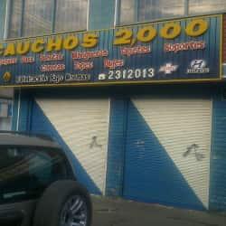 Cauchos 2000 en Bogotá