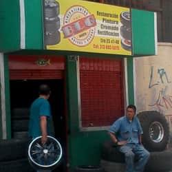 Rines y Llantas B.L.G en Bogotá