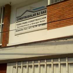 Construsolar Bj S.A.S en Bogotá