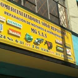 Comercializadora Solo Repuestos MG S.A.S en Bogotá