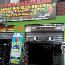 Lujos Calderón en Bogotá
