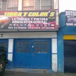 Fibra Y Color's Mjp en Bogotá