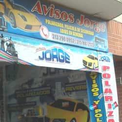 Polarizados y Avisos Jorge en Bogotá