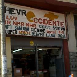 Almacén Chevroccidente en Bogotá