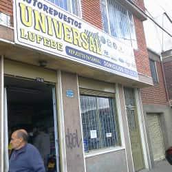 Autorepuestos Universal Lufebe en Bogotá