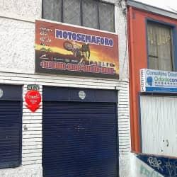 Motosemaforo en Bogotá