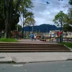Parque de San Antonio en Bogotá