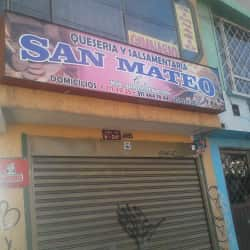 Queseria y Salsmentaria San Mateo en Bogotá