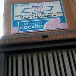Chevro Isuzu 580 Ltda en Bogotá