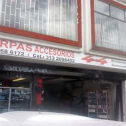 Carpas y Accesorios 4x4 en Bogotá