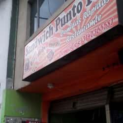 Sandwich Punto 100 en Bogotá