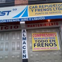 Car Repuestos y Frenos Ltda en Bogotá