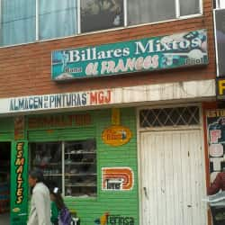 Billares Mixtos Rana El Frances en Bogotá