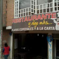 Restaurante Y Algo Más en Bogotá