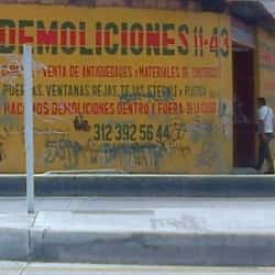 Demoliciones 11-43 en Bogotá