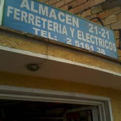 Almacén 21-21 Ferretería y Eléctricos en Bogotá