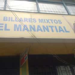 Billares Mixtos el Manantial en Bogotá