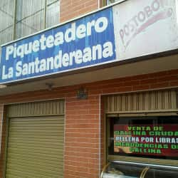 Piqueteadero la Santandereana en Bogotá