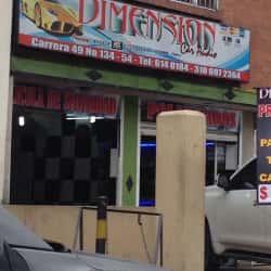 Dimension Car Audio en Bogotá