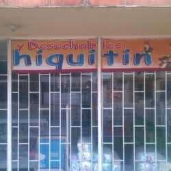 Desechables Hiquitín en Bogotá