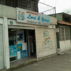 Uniformes Lord AND Yorya en Bogotá